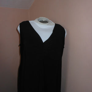Anthony black maxi tank style dress with cardigan